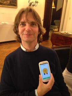 Composer Alberto Caruso w DuoLingo Badge
